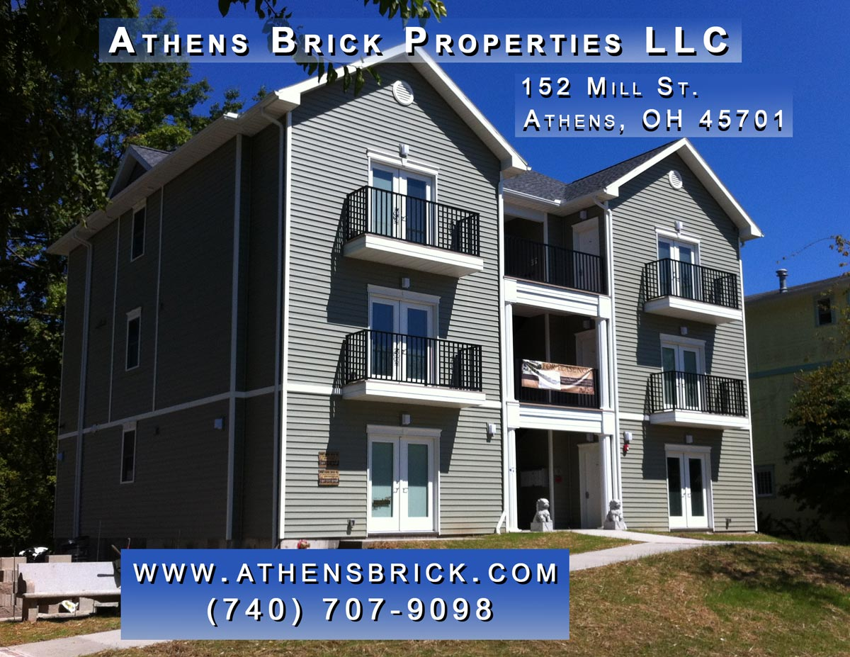 152 Mill St 3 Bedroom Apartments Athens Brick Properties LLC